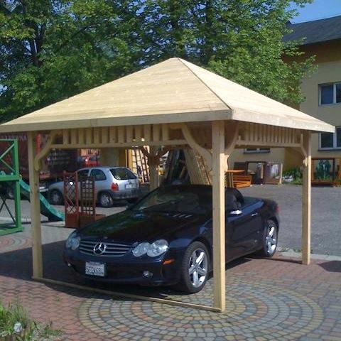 Dřevěný altán A1