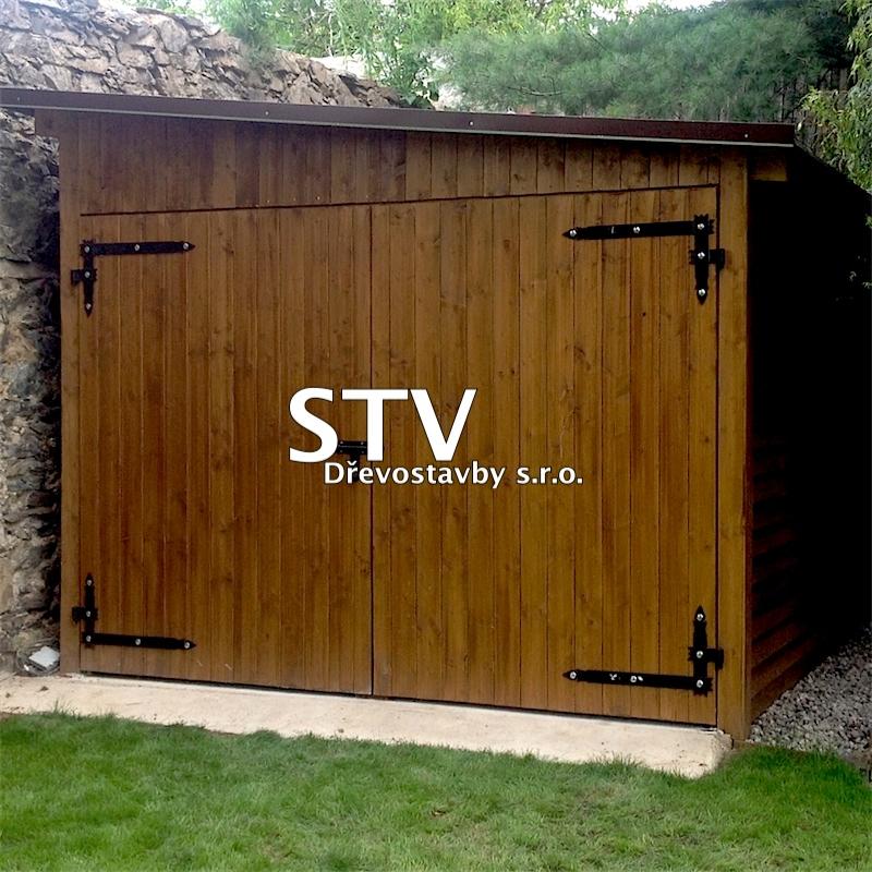 Dřevěná garáž 3x6 m