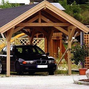 Luxusní garážové stání 4x6m TOP-ROOF se sedlovou střechou
