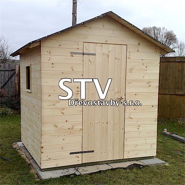 Dřevěné zahradní domky 2x2m